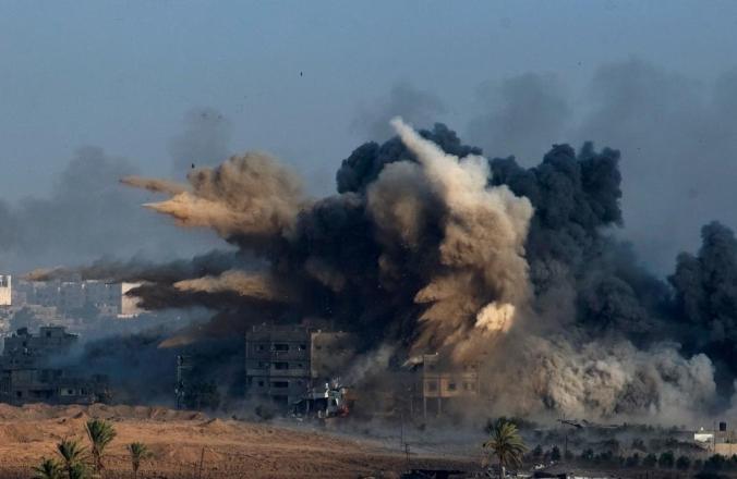 Gaza Explosions